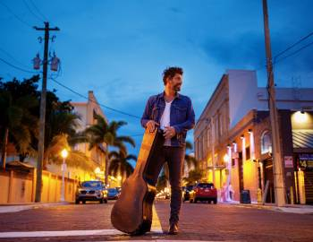 dave pahanish on the streets of downtown fort myers