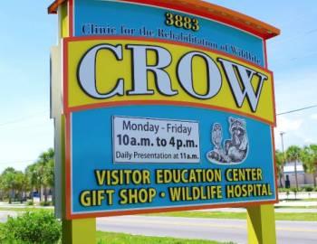 C.R.O.W. sign