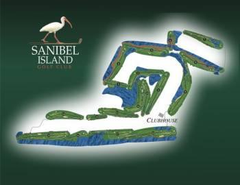 Sanibel Golf Club layout
