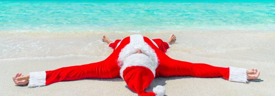 Santa on Sanibel