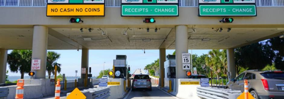 Sanibel toll booths