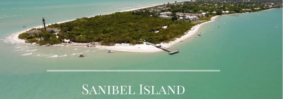 Sanibel Lighthouse drone photo