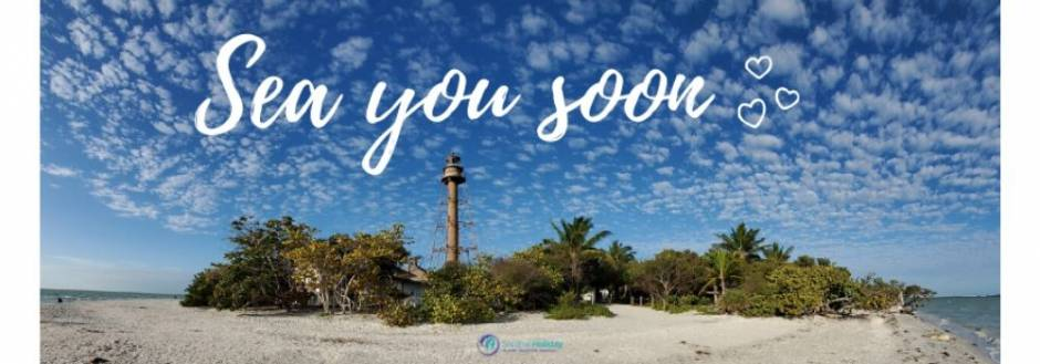 Sanibel Lighthouse Sea you soon
