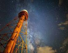 Sanibel Lighthouse at night