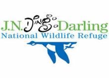 """JN """"Ding"""" Darling National Wildlife Refuge logo"""