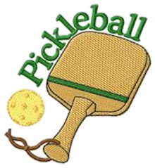 Pickle Ball and racket