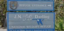 Ding Darling Wildlife Refuge Sign