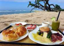 Lunch on Sanibel Beach