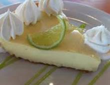 Sanibel Key Lime pie