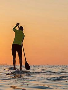 Person on Stand Up Paddle Board