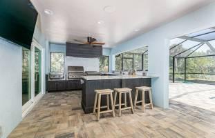 Urlaub Hause outdoor kitchen