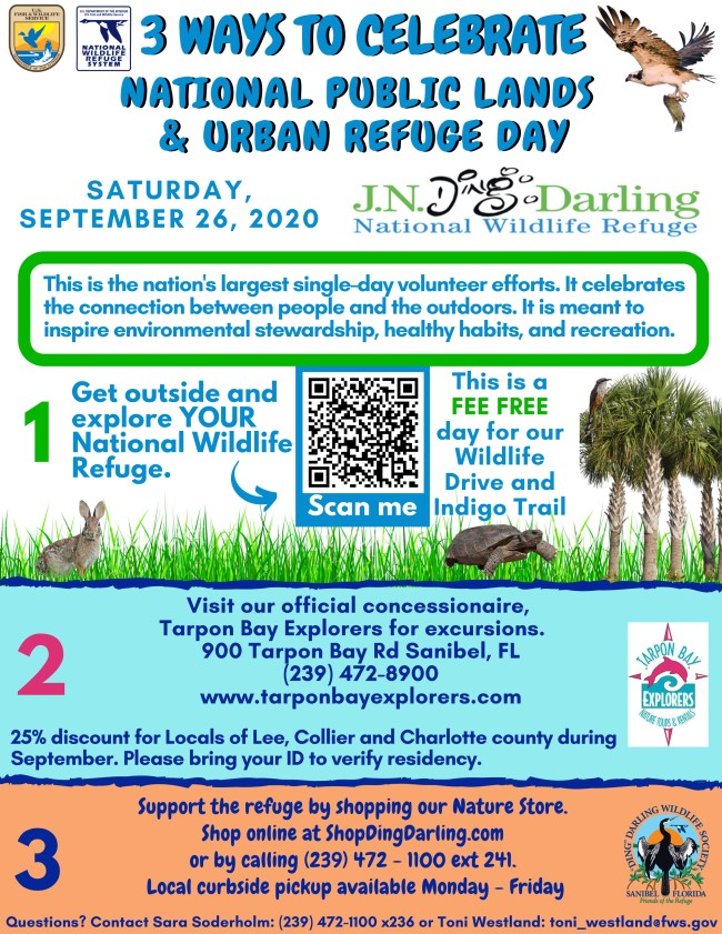 National Public Lands Day flyer