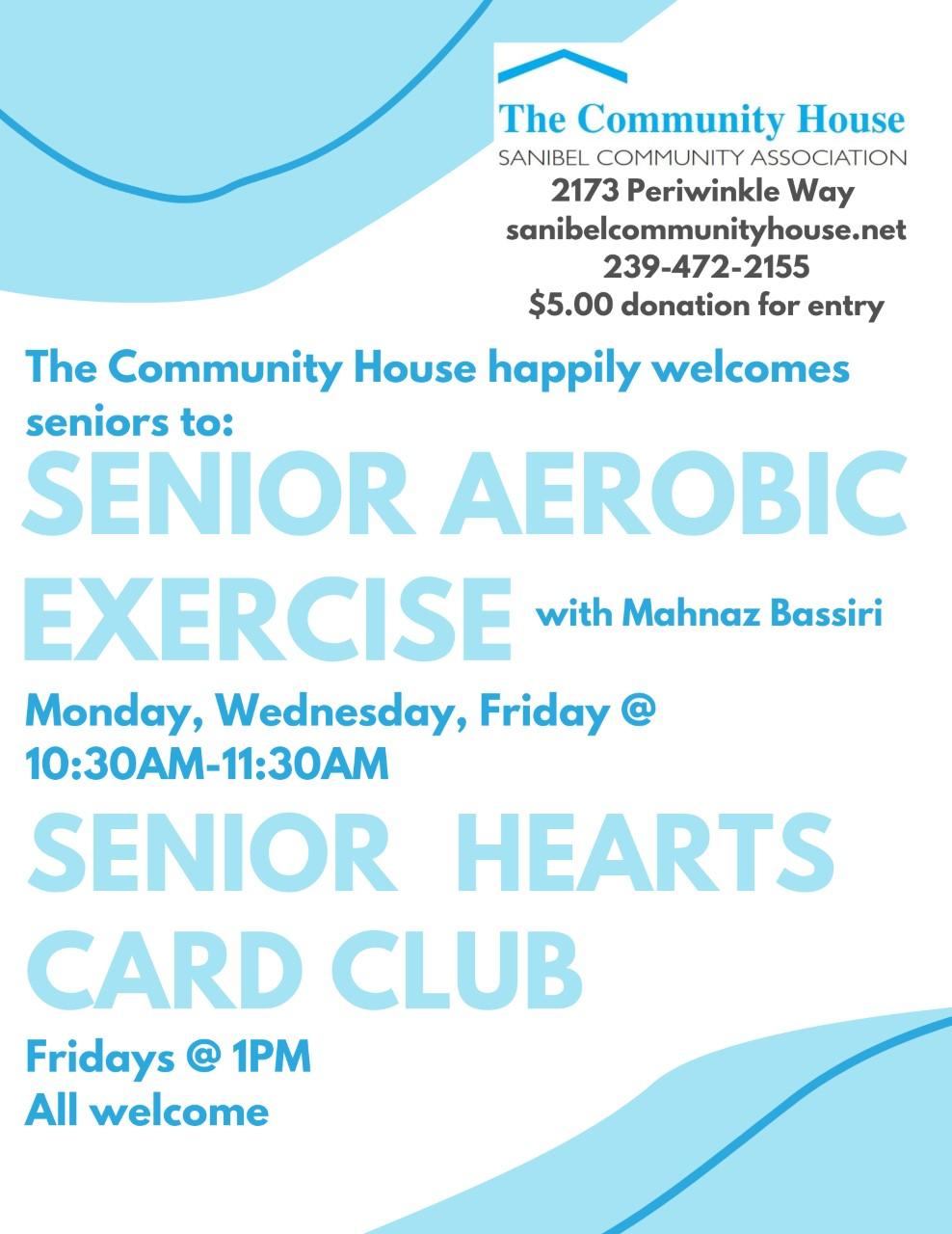 Senior Aerobics flyer